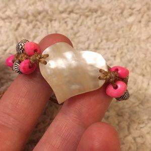 Abalone, Bead & Shell Bracelet 🐚